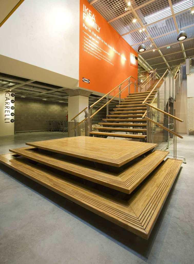 Ikea Interior Staircase Promo Il Pensiero In Opera