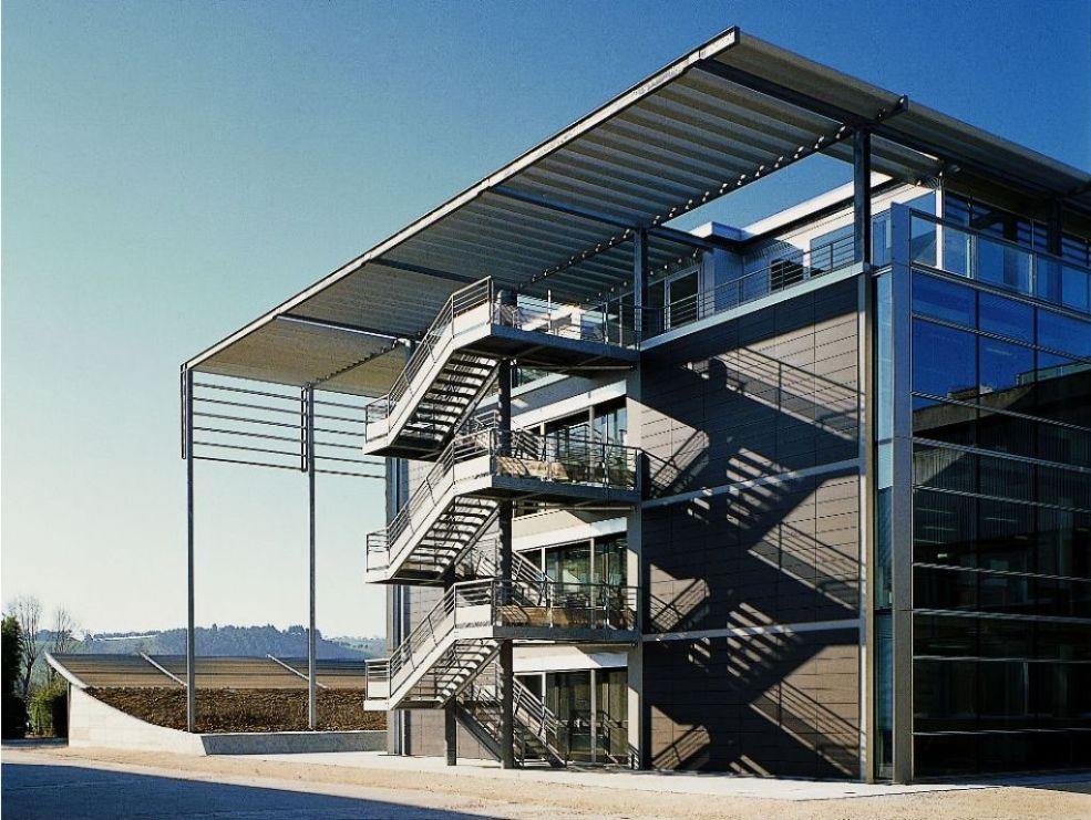 Iguzzini exterior staircase promo il pensiero in opera