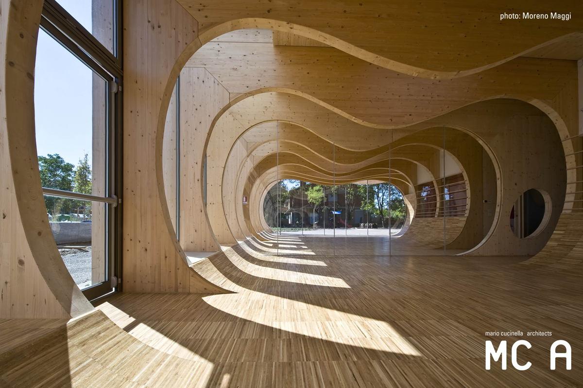 Municipal nursery school - Interior glazing - Promo - Il pensiero in ... d97d283ea4b