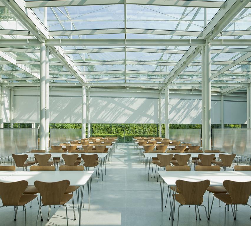 Prada Group industrial complex - Glazed roofs - Promo - Il pensiero in opera 5e54b72e65e
